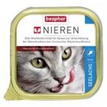 Beaphar Kidney Diet 腎臟保健配方貓罐頭 三文魚味 100g x 5罐同款優惠