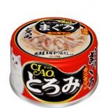 CIAO A43 帶子濃湯 雞肉+吞拿魚+蟹柳棒 貓罐頭 80g x 24罐原箱優惠