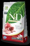 N&D CHICKEN & POMEGRANATE ADULT MEDIUM 無穀物全犬配方 石榴&雞肉 (中粒) 07kg