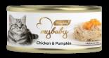 Be My Baby 濕貓糧 [A03] Chicken & pumpkin 雞肉+南瓜 85g x 24罐原箱優惠