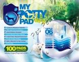 MY POTTY PAD 寵物尿墊 (33x45cm) 100片 x 4包同款原箱優惠