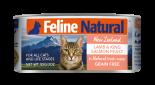 F9 Feline Naturals [K9-C- LS85] 貓罐頭 85G - 羊肉及三文魚 x 24罐原箱優惠