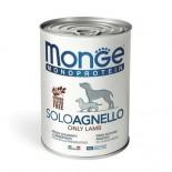 Monge 單一肉類蛋白-羊肉 狗罐頭 400g