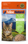*多買優惠* F9 Feline Natural 脫水鮮肉貓糧 – 雞肉及羊肉配方 320g x 4包優惠 ps冇贈品及不可與其他優惠一同使用