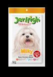 JerHigh 狗小食 Jer09-70g 牛奶雞肉條 70g