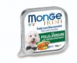 Monge 雞+蔬菜鮮肉罐頭 100g x 32