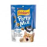 Friskies 喜躍 Party Mix 鬆脆貓小食袋裝海鮮及吞拿魚 170g