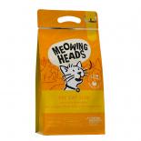 Meowing Heads [MHF3] - 無穀物全天然成貓體重控制及室內貓配方 Fat Cat Slim 3kg (1.5 kg x 2) (黃色)