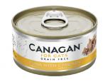 *Canagan 貓用無穀物吞拿魚+雞肉配方罐頭 75g x 12罐送$20現金券