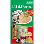 CIAO D-106 綜合營養 雞肉+牛肉肉醬 狗小食14g (4本)