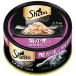 Sheba 日式黑罐SPR05 嚴選吞拿魚+蟹棒 75g