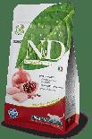 N&D CHICKEN & POMEGRANATE  無穀物成貓配方 雞肉&石榴 10kg x 2包同款優惠