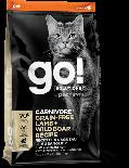GO! SOLUTIONS 1303064 - 活力營養系列 無穀物羊肉+豬肉貓糧配方 8lb
