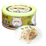 Petsgoal x 忌廉哥 吞拿魚+白飯魚 貓罐頭 70g