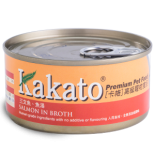Kakato 707 三文魚 魚湯 70G