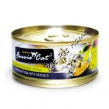 Fussie Cat FU-LBC 吞拿魚+青口貓罐頭 80g x 24