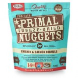 Primal (原始) 貓用冷凍脫水糧- 雞加三文魚配方 14oz x 2包優惠
