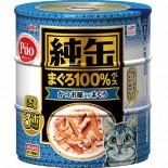 AIXIA 純罐 [JY3-15] 吞拿魚+鰹魚 125g x 3罐裝 (深藍)