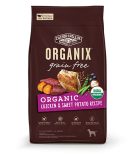Organix USDA 無穀物成犬糧-有機雞肉甜薯配方 04lb
