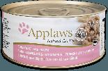 Applaws 愛普士 - 貓罐頭 156g - 吞拿魚+海蝦 x 24原箱優惠