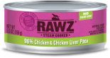 RAWZ 96% RZCT156 雞肉及雞肝肉醬全貓罐頭 156g x 24 罐原箱優惠