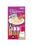 Ciao 4SC-78 11+ 鄂霍次克海帶子 雞肉+木魚醬 14g(4本)