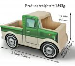瓦通紙貓抓板 [TY026-G] - 綠色貨車 (60 x 27 x 高35)