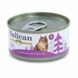 Salican 挪威森林 白肉吞拿魚+蟹肉 啫喱貓罐頭 85g