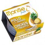 Monge 生果系列 貓罐頭 80g - 雞+菠蘿