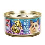 Akika 漁極 - AY25 金槍魚+鯖魚 貓罐頭 80g x 6罐優惠