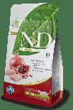 2019年新價 N&D CHICKEN & POMEGRANATE  無穀物絶育貓配方 雞肉&石榴 05kg