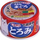 CIAO A57 雞肉+吞拿魚 防尿石  貓罐頭 80g x 24罐原箱優惠