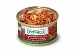 Petssion 紅肉吞拿魚野菜鴨肉浸雞湯 貓罐頭 85g