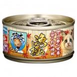 Akika 漁極 - AY26 金槍魚+石斑魚 貓罐頭 80g x 6罐優惠