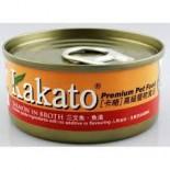 Kakato 807 三文魚+魚湯 170G