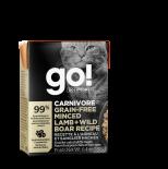 Go! Solutions 1266026 活力營養系列 無穀物免治羊肉+野豬肉 貓濕糧 6.4oz (米色) (盒裝)