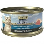 Canidae 白身吞拿魚與雞絲貓罐頭 70g x 24罐原箱同款優惠