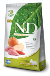N&D BOAR & APPLE ADULT MINI 無穀物全犬配方 蘋果&野豬 (細粒) 02.5kg