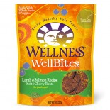 Wellness 89161 WellBites 羊肉三文魚嚼片 8oz