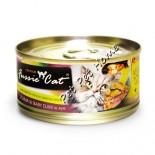 Fussie Cat FU-BCC 吞拿魚+ BB蜆貓罐頭 80g