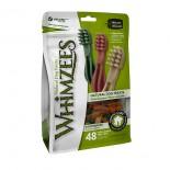 Whimzees - 大型犬 牙刷型高效潔齒骨(白色刷頭) 6支裝 12.7oz [WHZ304]