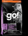 GO! SOLUTIONS 1303022 活力營養系列 無穀物雞肉+火雞+鴨肉老齡狗糧配方 12 lb