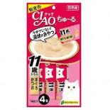 Ciao SC-74 11+ 吞拿魚+鰹魚醬 14g(4本) x 2包優惠