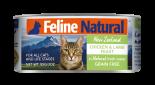 F9 Feline Naturals [K9-C- CL85] 貓罐頭 85G - 雞肉及羊肉 x 24罐原箱優惠