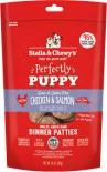 Stella & Chewy's 凍乾脫水狗糧 SC100 Freeze Dried Dinner Patties for dog - 幼犬雞肉及三文魚配方 14oz