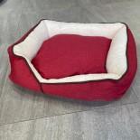 BOPET 床仔(可拆洗) (大) (紅+白 / 啡+灰)