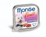 Monge 雞肉山莓鮮肉罐頭 100g x 32