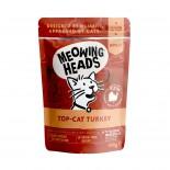 Meowing Heads [MHWT] - 無穀物Top-Cat Turkey 主食濕包 100g