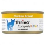 THRIVE 整全膳食100% 雞肉幼貓罐頭 75G x 12罐原條優惠