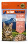 *多買優惠* F9 Feline Natural 脫水鮮肉貓糧 – 羊及三文魚配方 320g x 4包優惠 ps冇贈品及不可與其他優惠一同使用